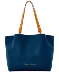 Dooney And Bourke City Flynn Tote Midnight Blue