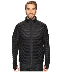 Obermeyer Kinetic Down Hybrid Black Men's Clothing