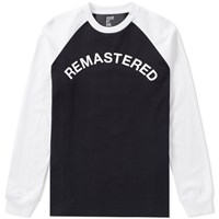 Hood By Air Remastered Baseball Top White