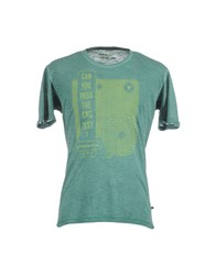 Cnc Costume National C'n'c' Costume National Topwear Short Sleeve T Shirts Men Green