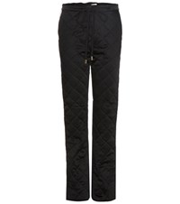 Marni Quilted Trousers Black