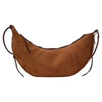 Jerome Dreyfuss Willy L Tote In Suede Tabac