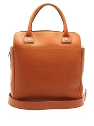 Connolly Deck 1985 Smooth Leather Shoulder Bag Tan