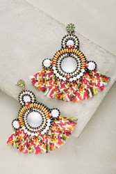 Anthropologie Niva Drop Earrings Pink