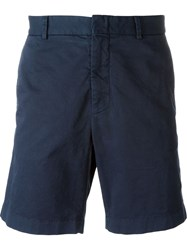 Msgm Chino Shorts Blue