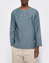 The Hill Side El Segundo Shirt Indigo Chambray