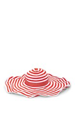 Missoni Mare Striped Sun Hat Red