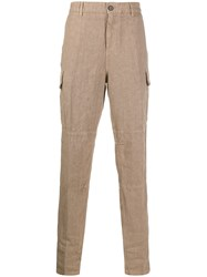 Eleventy Straight Leg Side Pocket Trousers 60