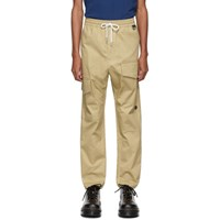 Wonders Tan Utility Cargo Trousers