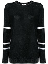 Zoe Karssen Round Neck Jumper Black