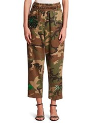 Marc Jacobs Camouflage Belted Pants Multicolor