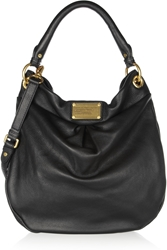 Marc By Marc Jacobs The Classic Q Hillier Hobo Textured Leather Shoulder Bag