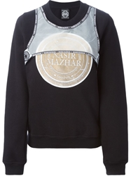 Nasir Mazhar Embroidered Patch Sweatshirt
