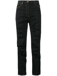 Y Project Ruched Jeans Black
