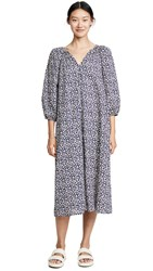 The Great Great. Willow Dress Navy Shadow Floral