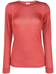 Forte Forte Lightweight Sweater Red