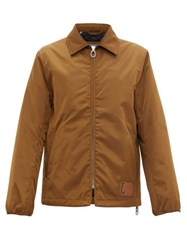 Lanvin Technical Padded Twill Coach Jacket Camel