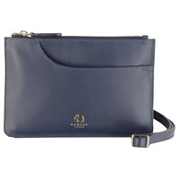 Radley Pockets Leather Small Across Body Bag Navy