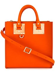 Sophie Hulme Albion Tote Yellow Orange