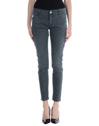 Closed Denim Pants Deep Jade