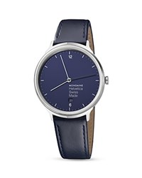 Mondaine Helvetica No. 1 Light Bleu Marine Watch 38Mm Blue