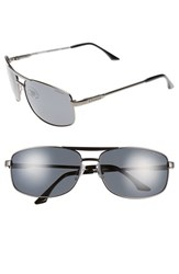 Polaroid Men's Eyewear '2017S' 65Mm Polarized Navigator Sunglasses