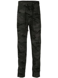 James Perse Rigid Camouflage Trousers 60