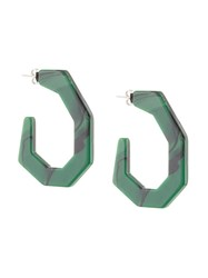 Rachel Comey Malachite Earrings Green