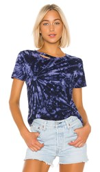 N Philanthropy Harlow Tee In Blue. Berry Multi