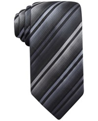John Ashford Barrett Stripe Tie Only At Macy's Black