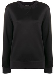 Tom Ford Crew Neck Sweater Black