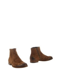 N.D.C. Made By Hand Ankle Boots Khaki