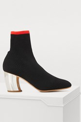 Proenza Schouler Knitted Boots Black