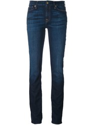 7 For All Mankind 'Kimmie' Straight Leg Jeans Blue