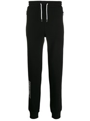 Karl Lagerfeld Quote Print Cuffed Track Pants 60