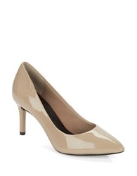 Rockport Total Motion Patent Leather Pumps Brown