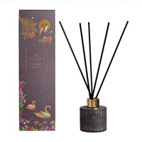 Sara Miller Printed Glass Reed Diffuser 100Ml Patchouli Cedar And Thyme