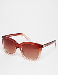 Warehouse Ombre D Frame Sunglasses Multi