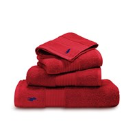 Ralph Lauren Home Player Towel Red Rose