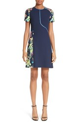 Jason Wu Women's Colorblock Jacquard Sheath Dress