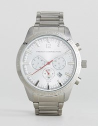 French Connection Stainless Steel Watch Silver