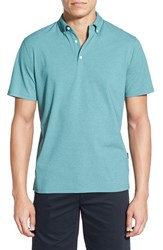Ag Jeans Men's Ag 'Gower' Pique Polo Brittany Blue