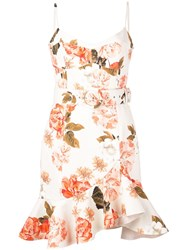 Nicholas Floral Day Dress White
