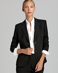 Basler Short Two Button Blazer Bloomingdale's Exclusive