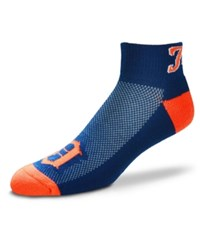 For Bare Feet Detroit Tigers The Cuff Ankle Socks Navy