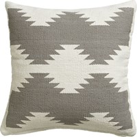 Cb2 Tecca 18'' Pillow With Feather Down Insert