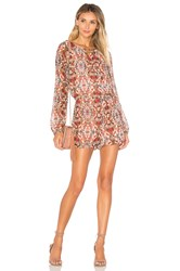 Bcbgeneration Dolman Sleeve Romper Blush