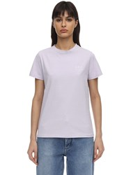 A.P.C. Denise Cotton Jersey T Shirt Pink
