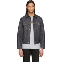 Naked And Famous Denim Indigo Left Hand Twill Jacket