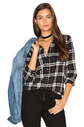 Cp Shades Sloane Flannel Button Up Black